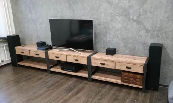 Wooden tv stend