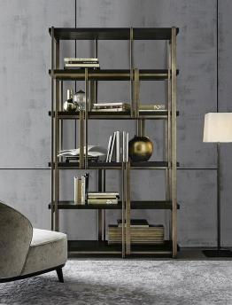 Metal dekorativ rəf